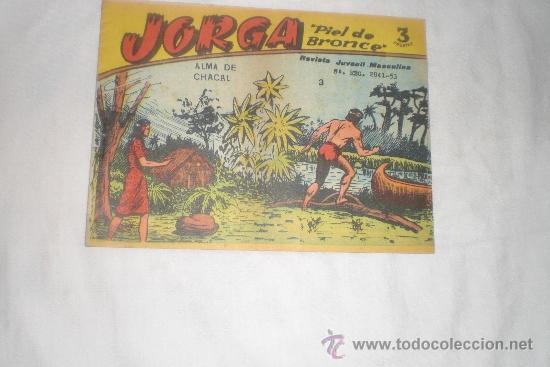 JORGA 3 PESETAS Nº 3 (Tebeos y Comics - Ricart - Otros)