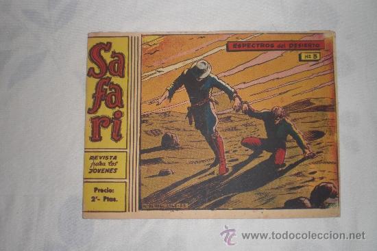 SAFARI Nº 3 (Tebeos y Comics - Ricart - Safari)