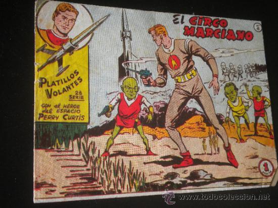 PLATILLOS VOLANTES 2 SERIE NUMERO 8 EL CIRCO MARCIANO (Tebeos y Comics - Ricart - Otros)