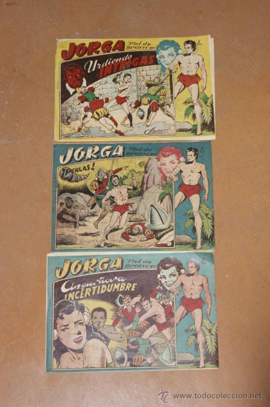 LOTE DE 2 TEBEOS JORGA, ANTIGUOS (Tebeos y Comics - Ricart - Jorga)