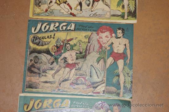 Tebeos: Lote de 2 tebeos Jorga, antiguos - Foto 3 - 34330923