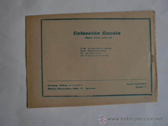 Tebeos: COLECCION GACELA Nº 120 CUENTOS PARA NIÑAS ORIGINAL - Foto 2 - 34325301