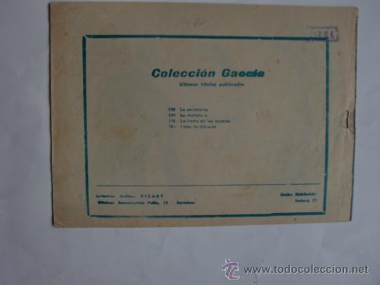 Tebeos: COLECCION GACELA Nº 132 CUENTOS PARA NIÑAS ORIGINAL - Foto 2 - 34325336