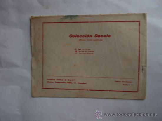 Tebeos: GACELA Nº 101 ORIGINAL CUENTOS PARA NIÑAS RICART - Foto 2 - 34433684