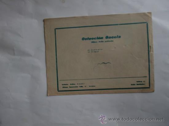 Tebeos: GACELA Nº 128 ORIGINAL CUENTOS PARA NIÑAS RICART - Foto 2 - 34433698