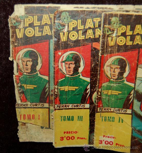 Tebeos: LOTE DE 3 PLATILLOS VOLANTES TOMOS I, III, IV - Foto 2 - 35658077