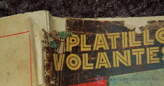Tebeos: LOTE DE 3 PLATILLOS VOLANTES TOMOS I, III, IV - Foto 4 - 35658077