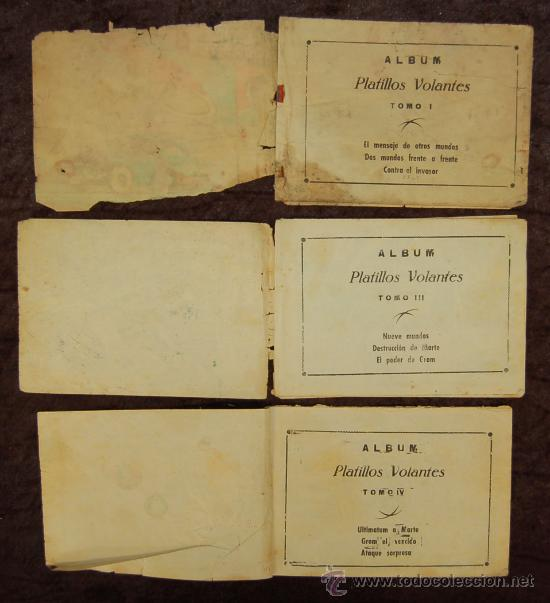 Tebeos: LOTE DE 3 PLATILLOS VOLANTES TOMOS I, III, IV - Foto 13 - 35658077