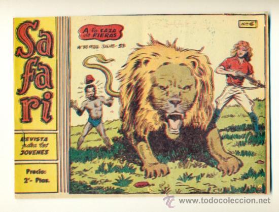 SAFARI Nº 6 - ORIGINAL RICART 2 PTS. (Tebeos y Comics - Ricart - Safari)