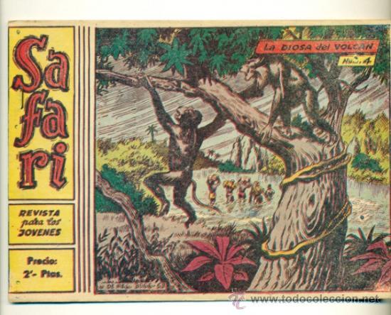 SAFARI Nº 4 - ORIGINAL RICART 2 PTS. (Tebeos y Comics - Ricart - Safari)