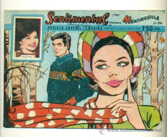 SENTIMENTAL Nº 194 - ORIGINAL RICART 1'50 PTS. (Tebeos y Comics - Ricart - Sentimental)