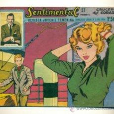 Tebeos: SENTIMENTAL Nº 51 - ORIGINAL RICART 1'50 PTS. . Lote 35910068