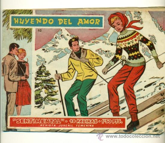 SENTIMENTAL Nº 10 - ORIGINAL RICART 1'50 PTS. (Tebeos y Comics - Ricart - Sentimental)