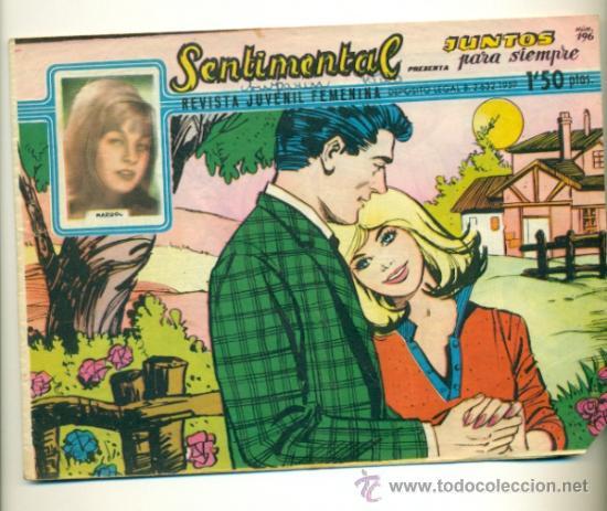 SENTIMENTAL Nº 196 - ORIGINAL RICART 1'50 PTS. (Tebeos y Comics - Ricart - Sentimental)