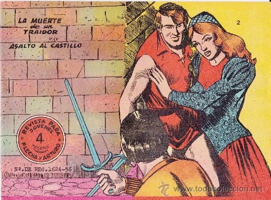 LOTE DE 6Nº FLECHA Y ARTURO (Tebeos y Comics - Ricart - Flecha y Arturo)