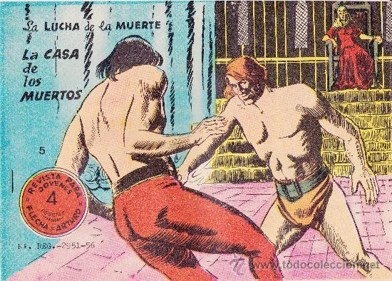 Tebeos: Lote de 6nº Flecha y Arturo - Foto 7 - 36042423