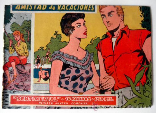 Tebeos: LOTE DE 4 COMICS AMOR INEVITABLE * AVENTURA EN EL TREN * AMISTAD DE VACACIONES * AMOR ESTUDIANTIL - Foto 3 - 36123288