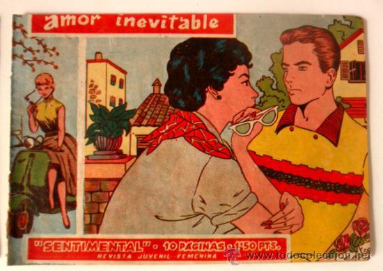 Tebeos: LOTE DE 4 COMICS AMOR INEVITABLE * AVENTURA EN EL TREN * AMISTAD DE VACACIONES * AMOR ESTUDIANTIL - Foto 5 - 36123288