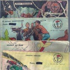 Tebeos: LOTE DE 4 EJEMPLARES : CIRCUITO CERRADO,HEROES AIRE,JOCKEY DESAPAR,PESCA SUBMARINA. Lote 36235849