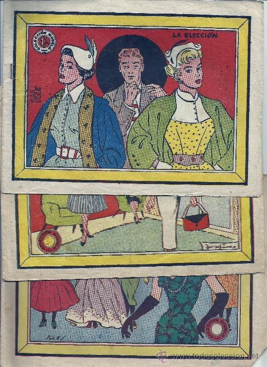 COLECCION MODEL- 4 EJEMPLARES 1959,UNO REPETIDO (Tebeos y Comics - Ricart - Modelo)