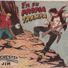 Tebeos: WINCHESTER JIM ,EN SU PROPIA TRAMPA. Lote 36335303