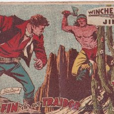 Tebeos: WINCHESTER JIM ,EL FIN DE UN TRAIDOR. Lote 36335386