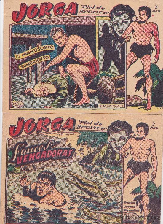 JORGA NºS 7 Y 11 (Tebeos y Comics - Ricart - Jorga)