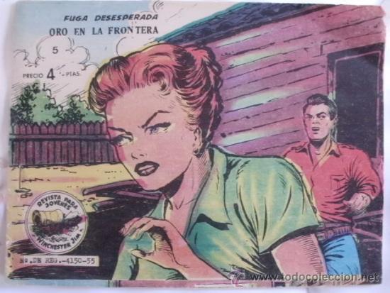 WINCHESTER JIM Nº 5 ORIGINAL (Tebeos y Comics - Ricart - Otros)