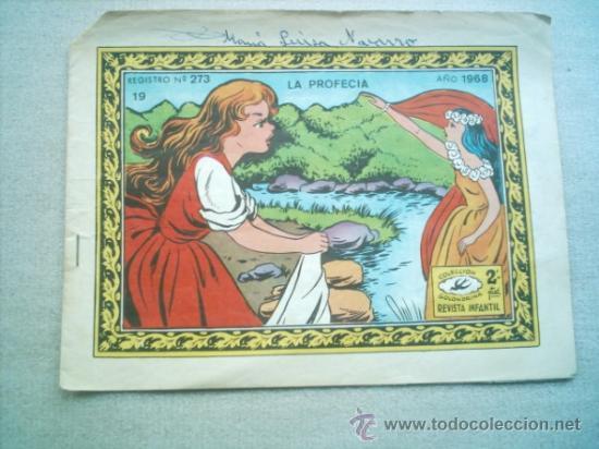 GOLONDRINA Nº 19 LA PROFECIA / RICART 1968 (Tebeos y Comics - Ricart - Golondrina)