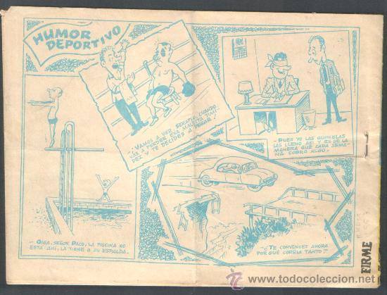 Tebeos: ** CAYO VERDE ** AÑO 1963 - AVENTURAS DEPORTIVAS - RICART - ORIGINAL - Foto 2 - 38040800