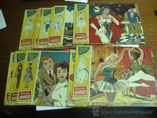 COLECCIÓN MODELO / LOTE CON 16 NÚMEROS / RICART ORIGINAL 1958 (Tebeos y Comics - Ricart - Modelo)