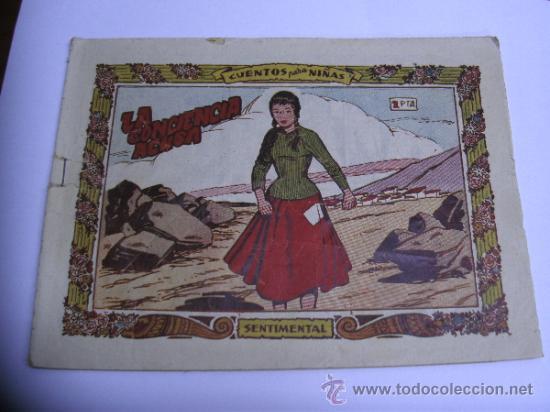 Tebeos: CUENTOS PARA NIÑAS - SENTIMENTAL / LOTE DE 9 NÚMEROS / RICART ORIGINAL - Foto 4 - 38454539