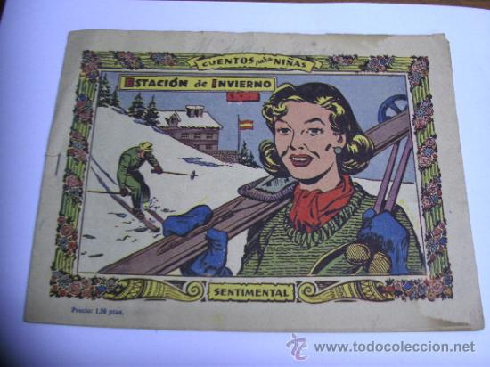 Tebeos: CUENTOS PARA NIÑAS - SENTIMENTAL / LOTE DE 9 NÚMEROS / RICART ORIGINAL - Foto 16 - 38454539