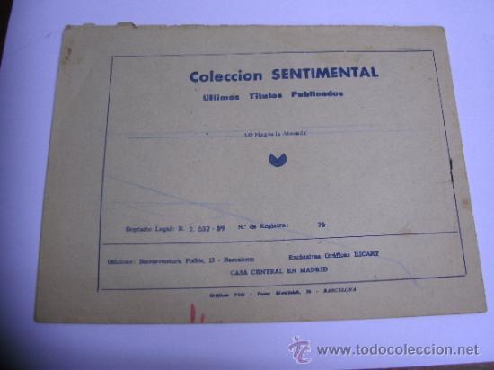 Tebeos: CUENTOS PARA NIÑAS - SENTIMENTAL / LOTE DE 9 NÚMEROS / RICART ORIGINAL - Foto 15 - 38454539