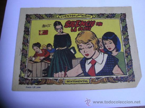 Tebeos: CUENTOS PARA NIÑAS - SENTIMENTAL / LOTE DE 9 NÚMEROS / RICART ORIGINAL - Foto 12 - 38454539