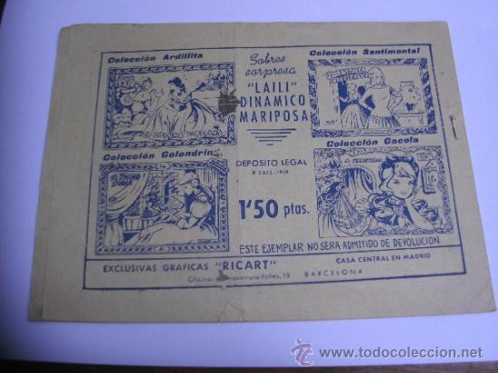Tebeos: CUENTOS PARA NIÑAS - SENTIMENTAL / LOTE DE 9 NÚMEROS / RICART ORIGINAL - Foto 19 - 38454539