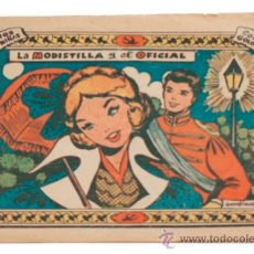 Tebeos: COLECCIÓN GOLONDRINA / LA MODISTILLA Y EL OFICIAL 1959. Lote 38497229