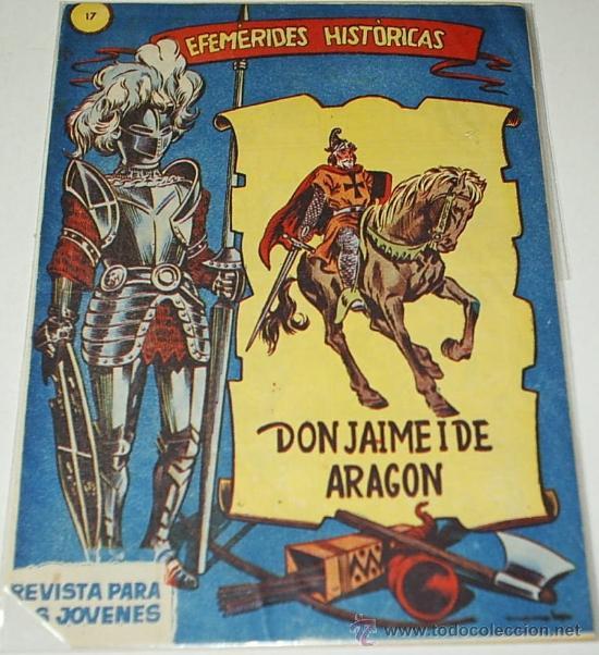 EFEMERIDES HISTORICAS. Nº 17 -- EDIT. RICART - ORIGINAL- LEER (Tebeos y Comics - Ricart - Otros)