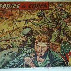Tebeos: EPISODIOS DE COREA 1ª EDICION PRECIOSOS Y MUY NUEVOS ALBUM Nº VIII ORIGINAL. Lote 38871820