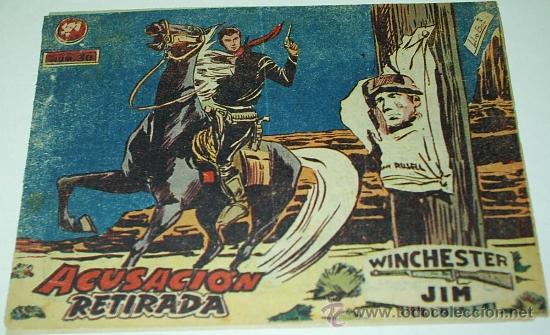 WINCHESTER JIM Nº 30 -ORIGINAL RIFLE DE 2 PTS CON INDICE DE NUMEROS- LEER TODO (Tebeos y Comics - Ricart - Otros)