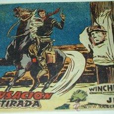 Tebeos: WINCHESTER JIM Nº 30 -ORIGINAL RIFLE DE 2 PTS CON INDICE DE NUMEROS- LEER TODO. Lote 39112279