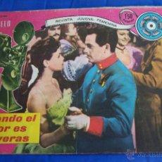 BDs: REVISTA JUVENIL FEMENINA COLECCION MODELO NUM. 8: CUANDO EL AMOR ES DE VERAS. Lote 40186100