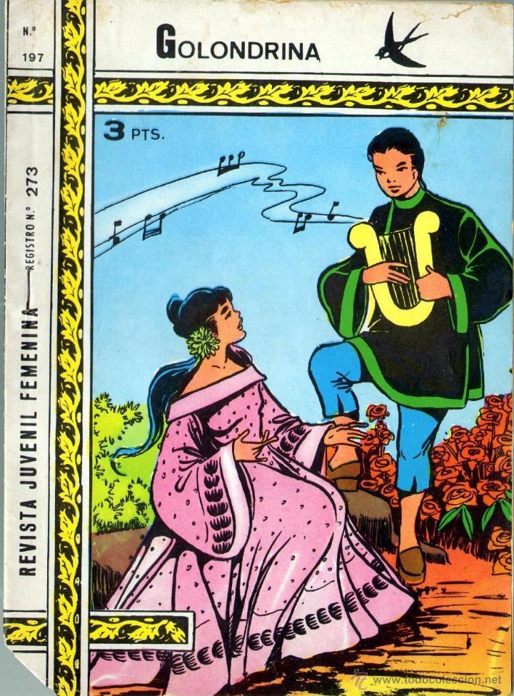 TEBEOS-COMICS GOYO - GOLONDRINA - Nº 197 - RICART - 1957 - *AA99 (Tebeos y Comics - Ricart - Golondrina)