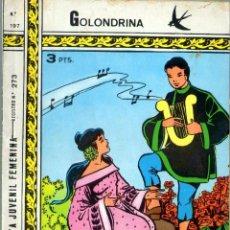 Tebeos: TEBEOS-COMICS GOYO - GOLONDRINA - Nº 197 - RICART - 1957 - *AA99. Lote 40841927