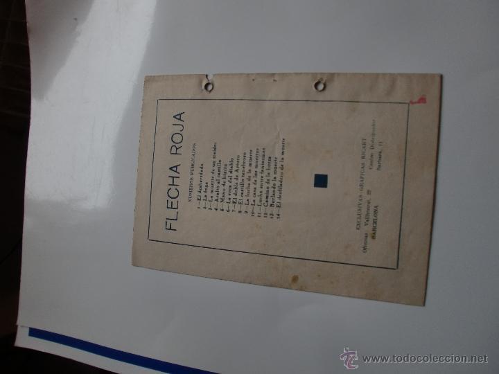 Tebeos: AVENTURAS DE FLECHA ROJA Nº 14 ORIGINAL - Foto 2 - 41126374