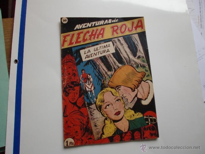 AVENTURAS DE FLECHA ROJA Nº 30 ULTIMO DE LA COLECCION ORIGINAL (Tebeos y Comics - Ricart - Otros)