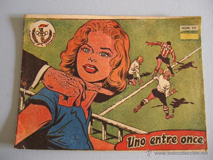 AVENTURAS DEPORTIVAS - UNO ENTRE ONCE - Nº10 - RICART (2PTS) - 1963 (Tebeos y Comics - Ricart - Aventuras Deportivas)