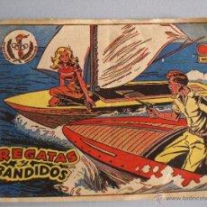Tebeos: AVENTURAS DEPORTIVAS - REGATAS Y BANDIDOS - Nº9 - RICART (2PTS) - 1963. Lote 41498495