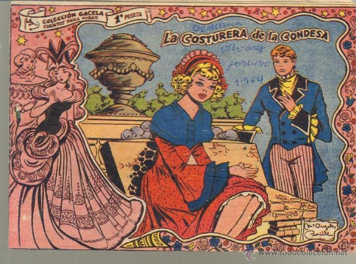 TEBEOS-COMICS CANDY - GACELA - Nº 54 - RICART - 1955 - MUY DIFICIL *UU99 (Tebeos y Comics - Ricart - Gacela)