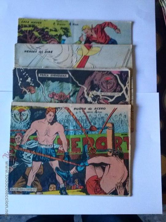 4 NºS DE 4 PTAS- EDITORIAL RICART, -FERMA - VER DESCRIPCION - TAMBIEN SUELTOS (Tebeos y Comics - Ricart - Aventuras Deportivas)